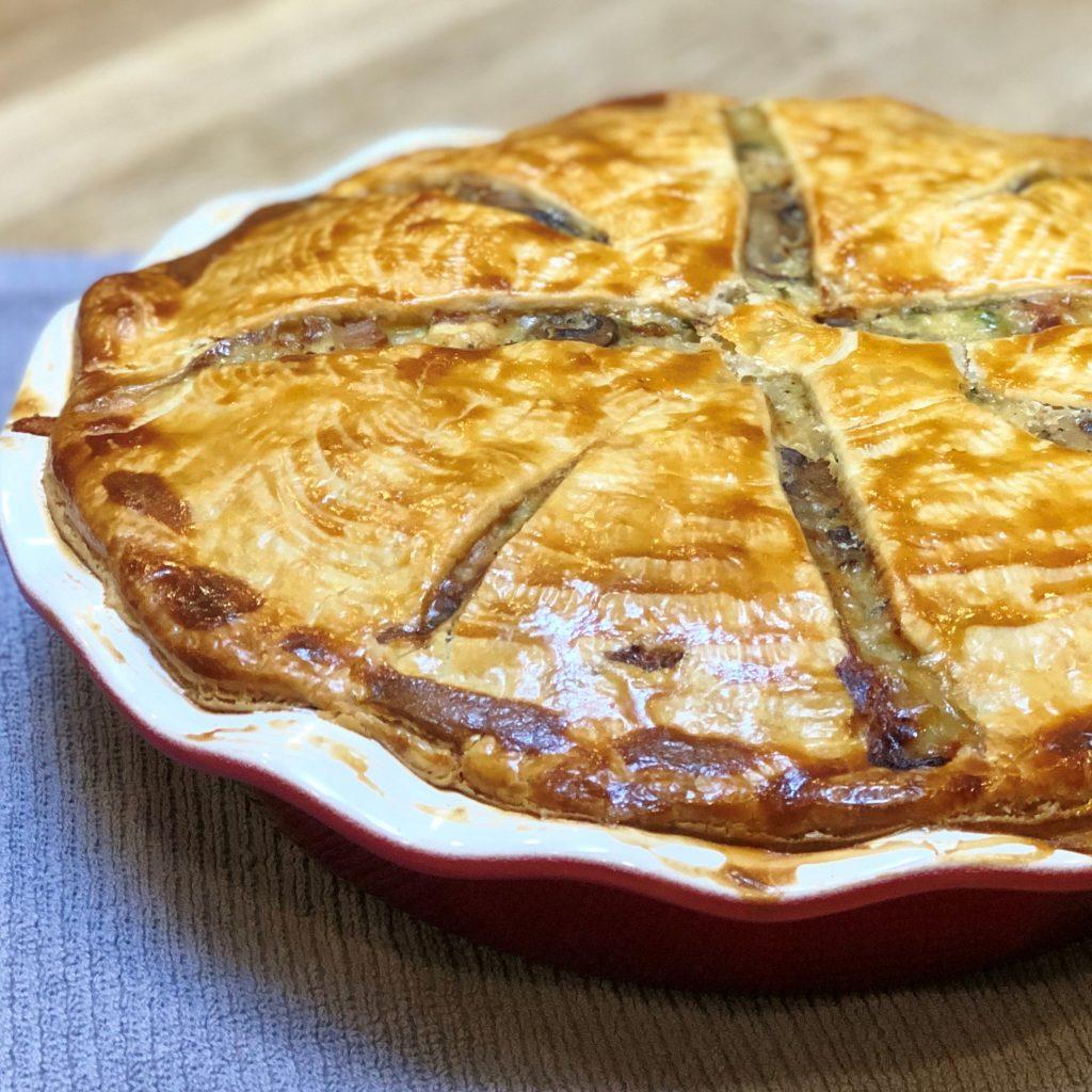 Love to Eat Turkey Deep Dish Pot Pie